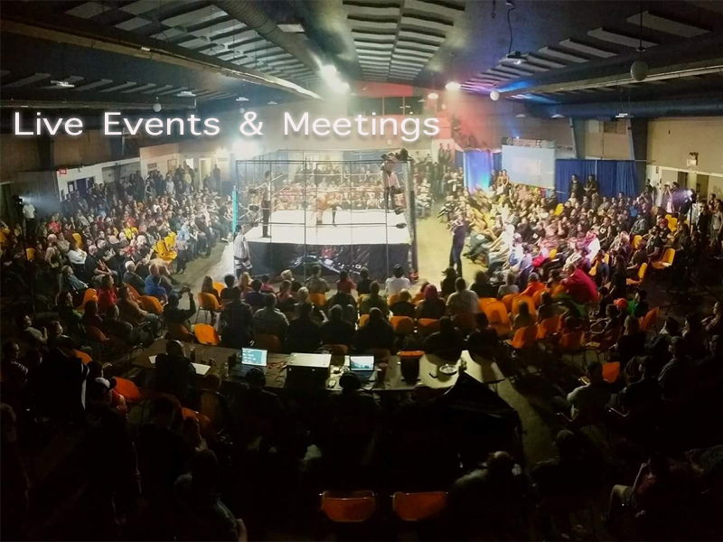 Hub City Production Live Events/Meetings